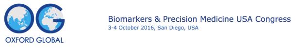 Biomarkers & Precision Medicine USA Congress @ San Diego, CA
