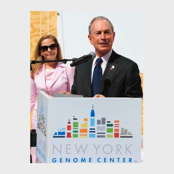 Mayor Bloomberg and Nancy J Kelley - NYGC