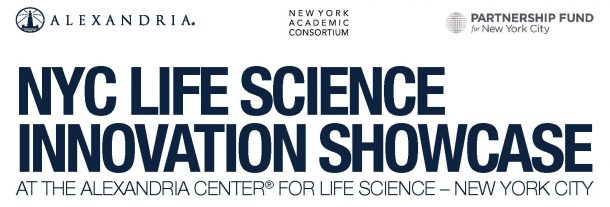 NYC Life Science Innovation Showcase @ Alexandria Center for Life Science 450 East 29th Street, 2nd Floor, NYC