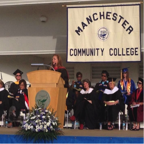 Nancy J Kelley - MCC Commencement