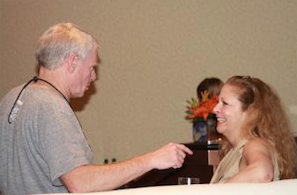 Jay Flatley and Nancy J. Kelley