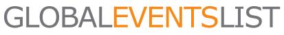 global events list logo